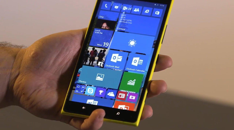 Rengeteg telefont fog támogatni a következő Windows 10 build